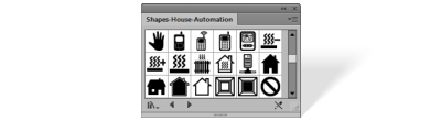 Shapes House automation library