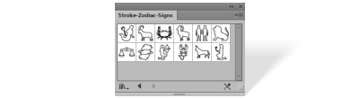 Stroke Zodiac signs library