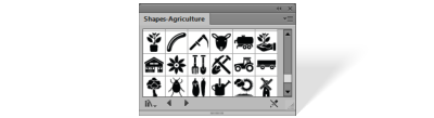 Shapes Agriculture library