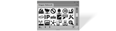 Shapes Network library
