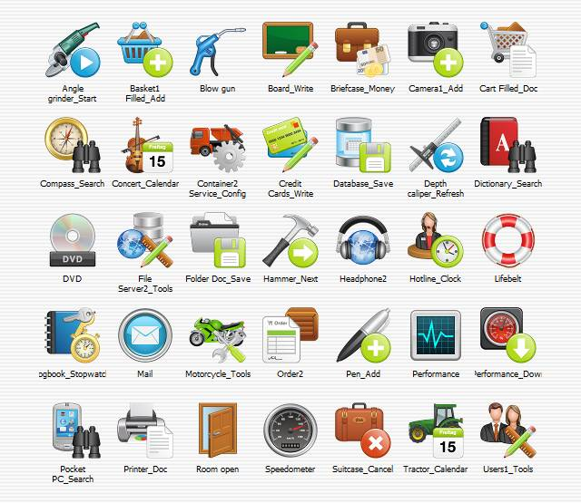 Click to view Icons Bundle screenshots
