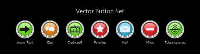 Vector Button_02 Icon Set screenshot