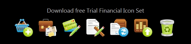 Click to view Vector_Financial Icon Set 1.0 screenshot