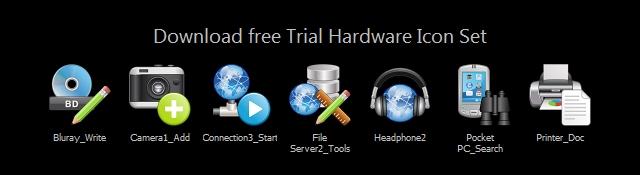 Vector_Hardware Icon Set screenshot